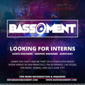 Radio Bassment- Looking for Interns